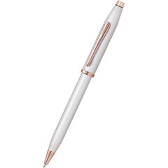 Cross Century II Ballpoint Pen - Pearlescent White-Pen Boutique Ltd