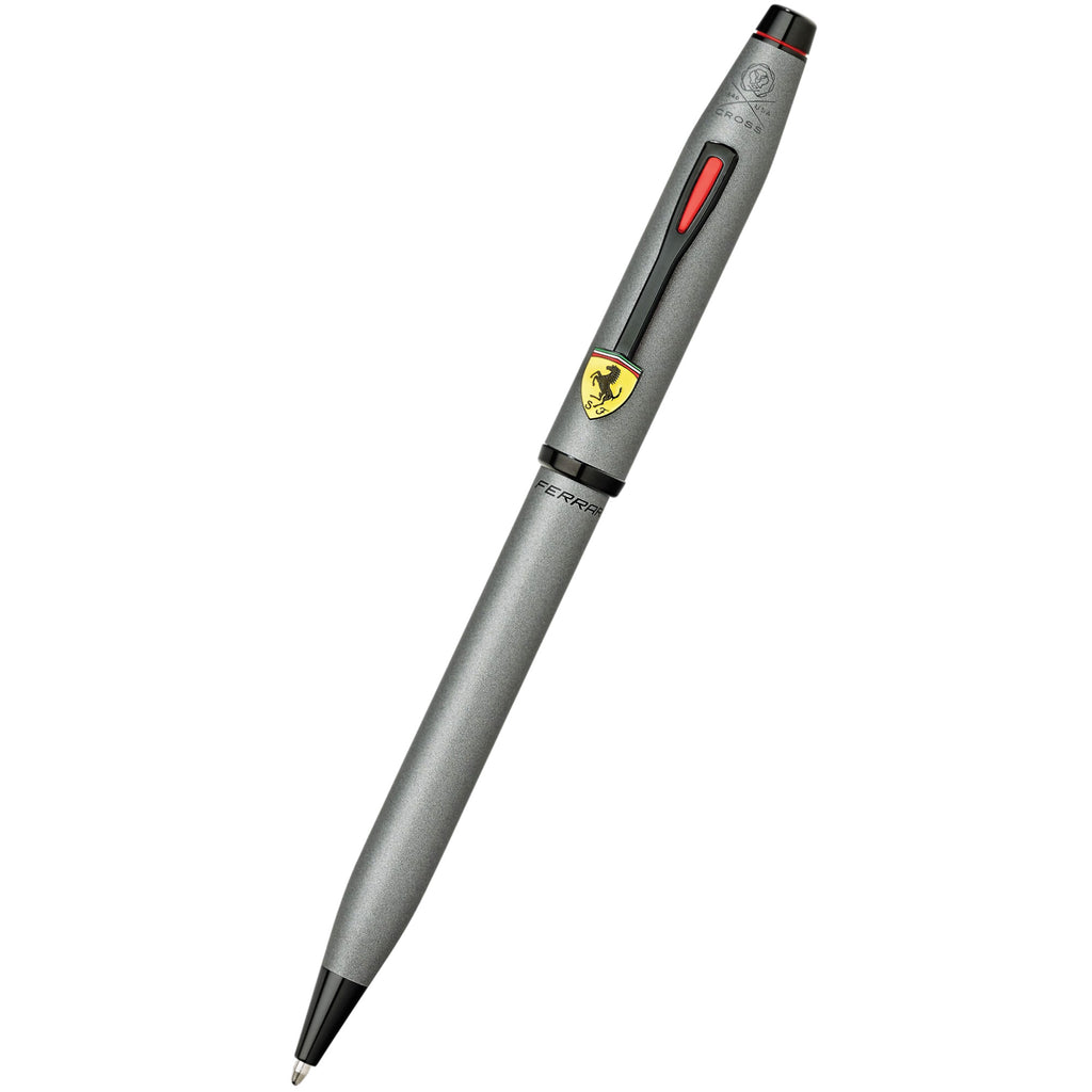 Cross Century II Ballpoint Pen - Scuderia Ferrari - Titanium Gray-Pen Boutique Ltd