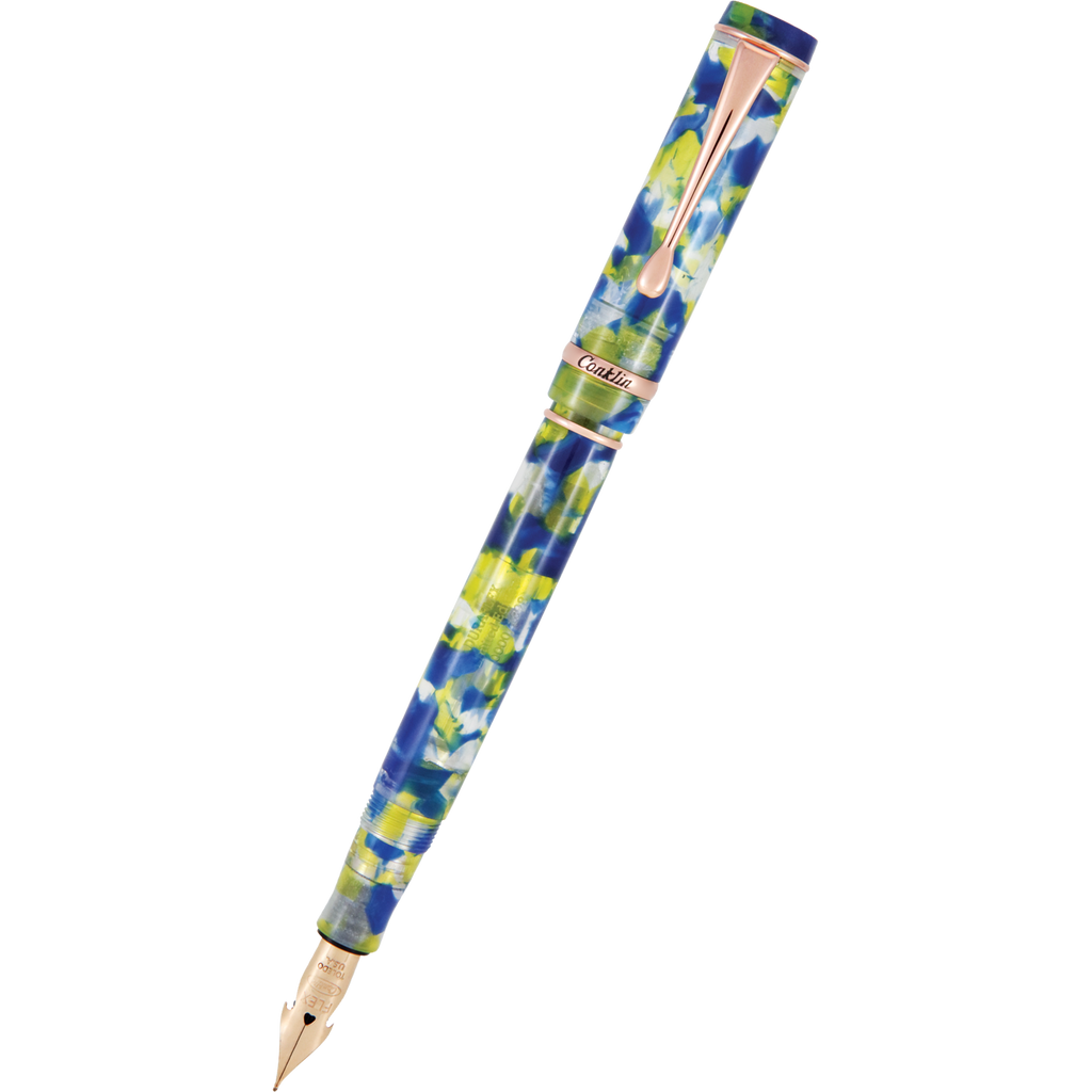 Conklin Duraflex Elements Fountain Pen - Water (Limited Edition)-Pen Boutique Ltd