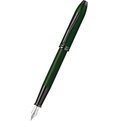 Cross Townsend Fountain Pen - Matte Green Micro Knurl-Pen Boutique Ltd