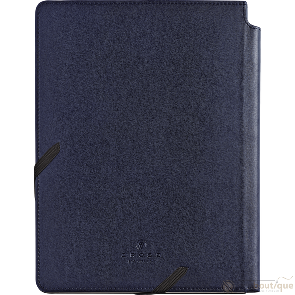 Cross Dotted Journal - Midnight Blue - Large-Pen Boutique Ltd