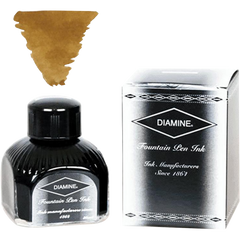 Diamine Golden Brown Ink Bottle - 80 ml-Pen Boutique Ltd