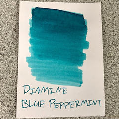 Diamine Shimmer Ink Bottle - Blue Peppermint-Pen Boutique Ltd