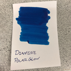 Diamine Sheen Ink Bottle - Polar Glow-Pen Boutique Ltd