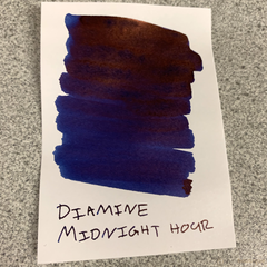 Diamine Sheen Ink Bottle - Midnight Hour-Pen Boutique Ltd