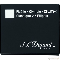 ST Dupont Black Ink Cartridges-Pen Boutique Ltd