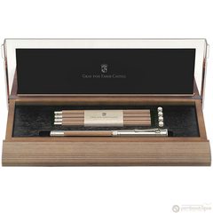Graf Von Faber-Castell Perfect Pencil Set-Brown-Pen Boutique Ltd