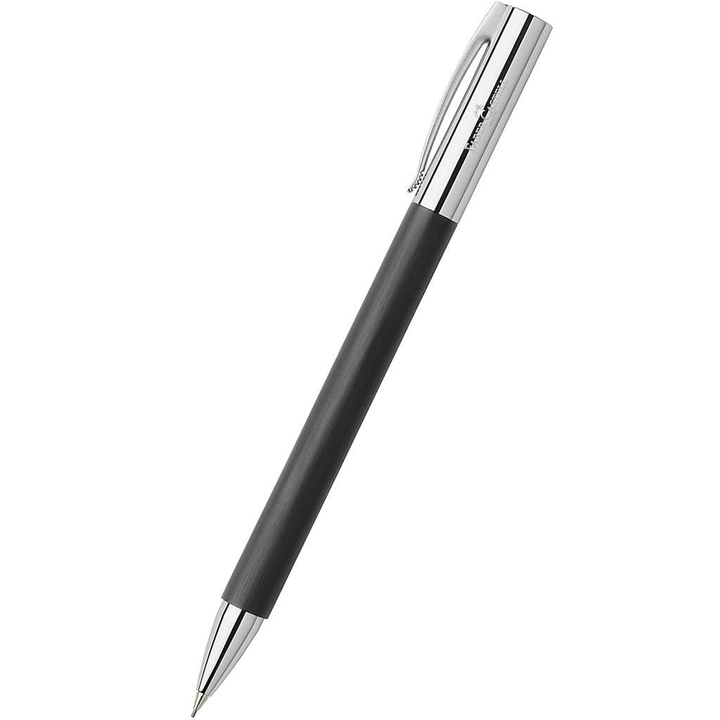 Faber-Castell Ambition, Black Mechanical Pencil 0.7mm-Pen Boutique Ltd
