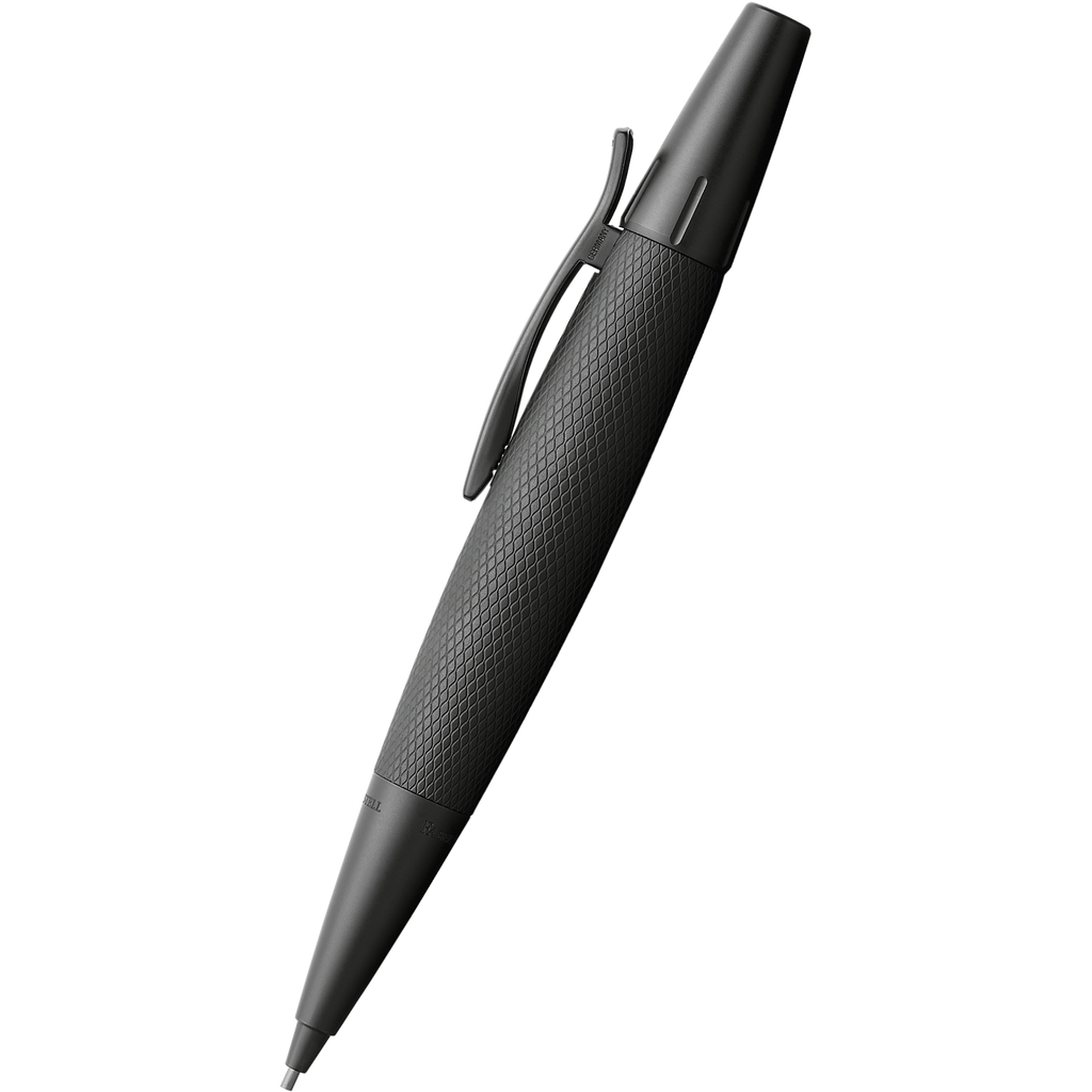 Faber-Castell E-Motion Pure Black Mechanical Pencil-Pen Boutique Ltd
