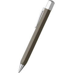 Faber-Castell Ondoro Grey Brown Ballpoint Pen-Pen Boutique Ltd