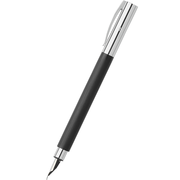Faber-Castell Ambition Black Fountain Pen-Pen Boutique Ltd