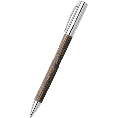 Faber-Castell Ambition Coconut Wood Ballpoint Pen-Pen Boutique Ltd