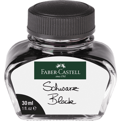 Faber-Castell Black 30ml Ink Bottle-Pen Boutique Ltd
