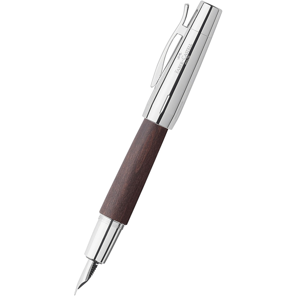 Faber-Castell Design E-Motion Dark Brown Fountain Pen-Pen Boutique Ltd
