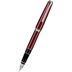Pilot Falcon 2 Fountain Pen - Metal Burgundy-Pen Boutique Ltd