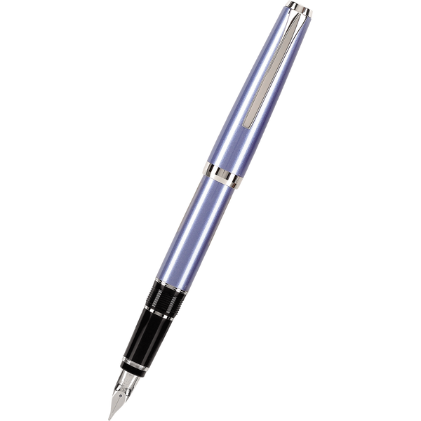 Pilot Falcon 2 Fountain Pen - Metal Sapphire-Pen Boutique Ltd