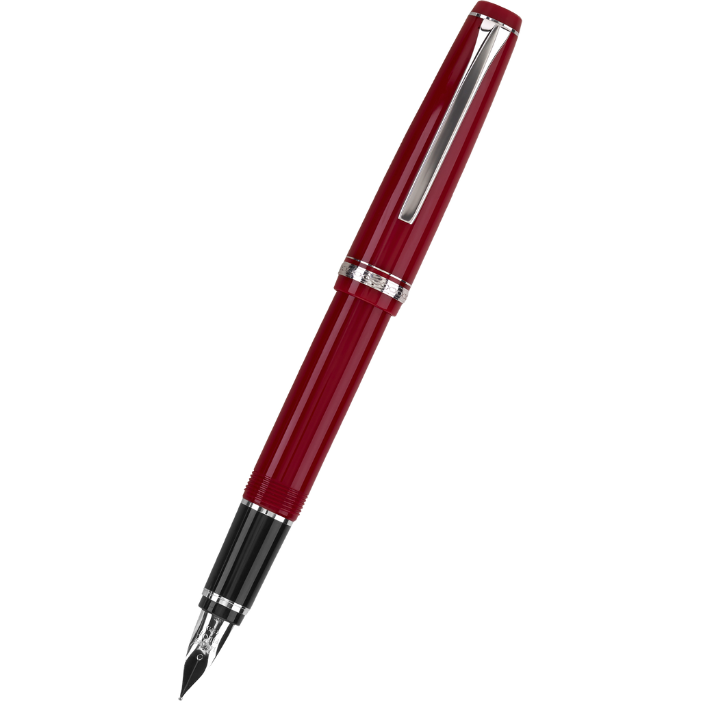 Pilot Falcon Fountain Pen - Red-Pen Boutique Ltd