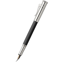 Graf Von Faber-Castell Classic Ebony Wood Fountain Pen-Pen Boutique Ltd