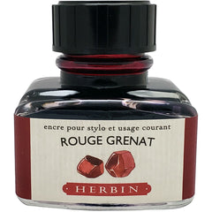 J. Herbin Ink Bottle - Rouge Grenat - 30ml