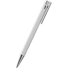 Lamy Logo M+ Ballpoint Pen - White-Pen Boutique Ltd