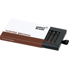 Montblanc Toffee Brown - Ink Cartridges-Pen Boutique Ltd