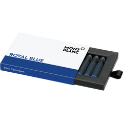Montblanc Ink Cartridges - Royal Blue (8 Per Pack)-Pen Boutique Ltd