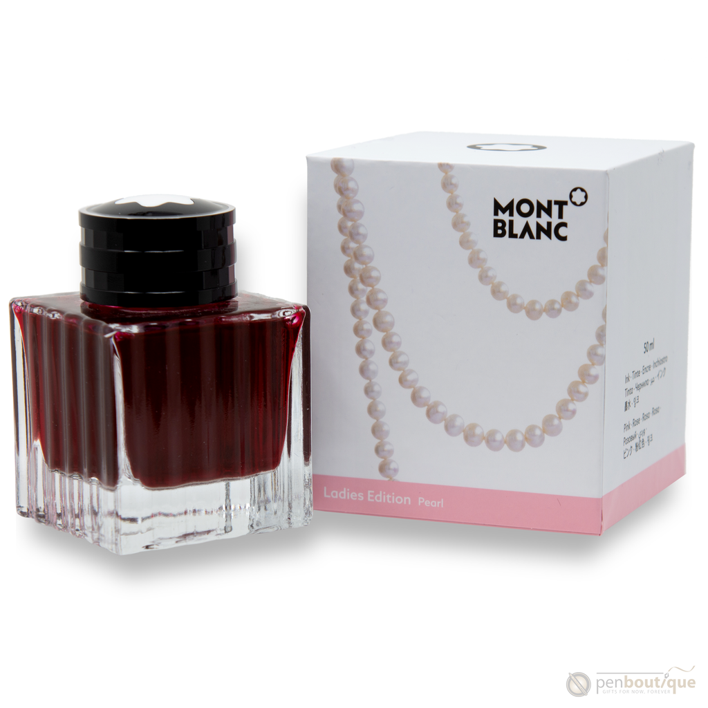 Montblanc Bottled Ink - Ladies Edition - Pearl - 50ml-Pen Boutique Ltd