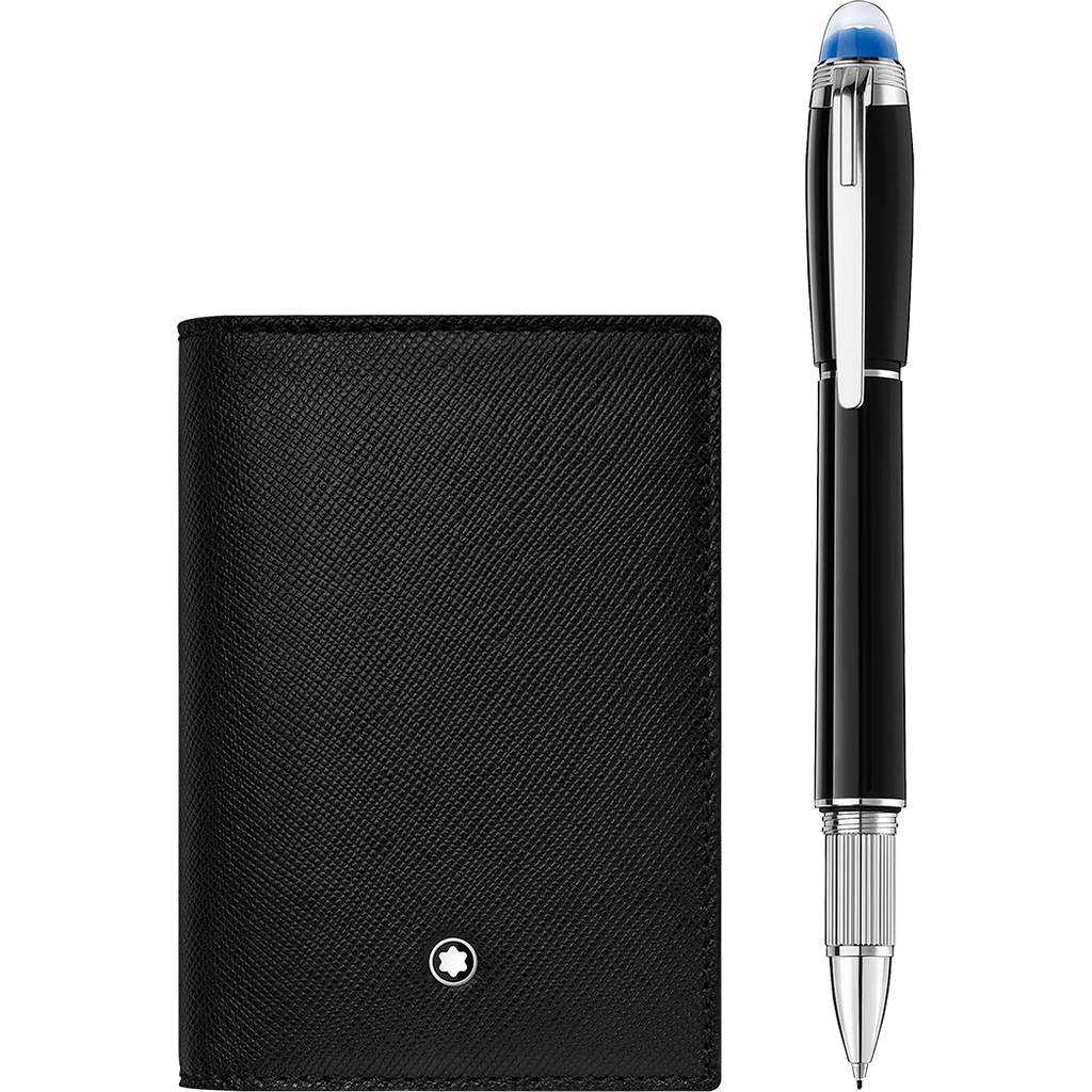 Montblanc Gift Set (Fineliner & Business Card Holder)-Pen Boutique Ltd