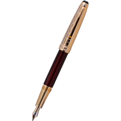 Montblanc 145 Meisterstuck Fountain Pen - Le Petit Prince & the Planet - Doue (Classique)-Pen Boutique Ltd