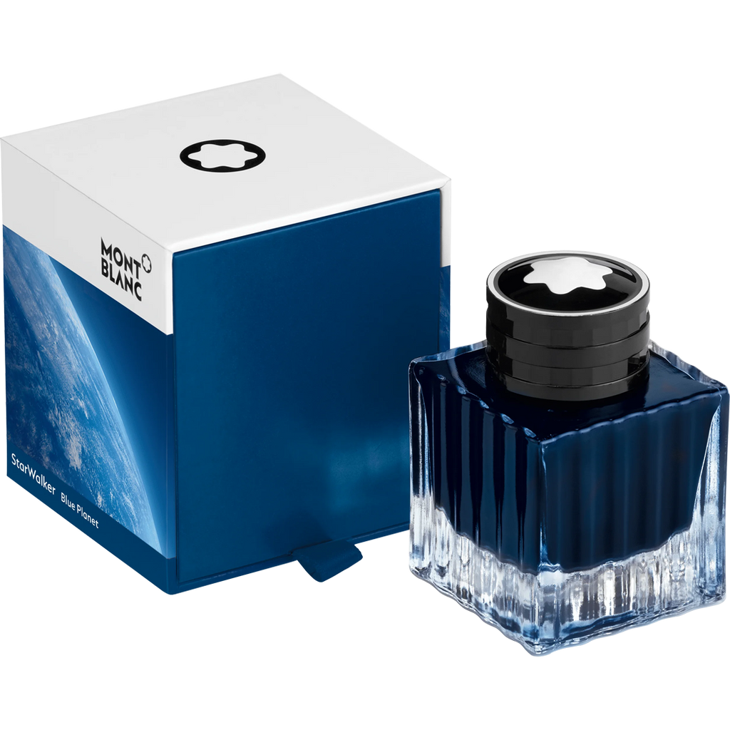 Montblanc Starwalker Ink Bottle - Blue Planet - 50ml-Pen Boutique Ltd