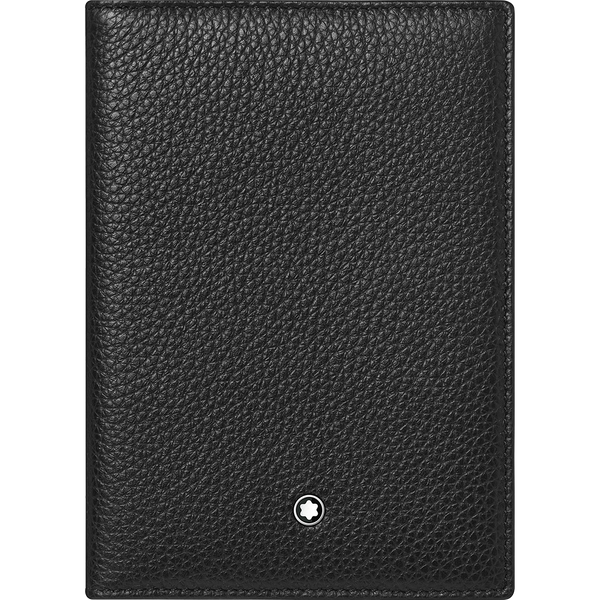 Montblanc Passport Holder - Soft Grain Black-Pen Boutique Ltd