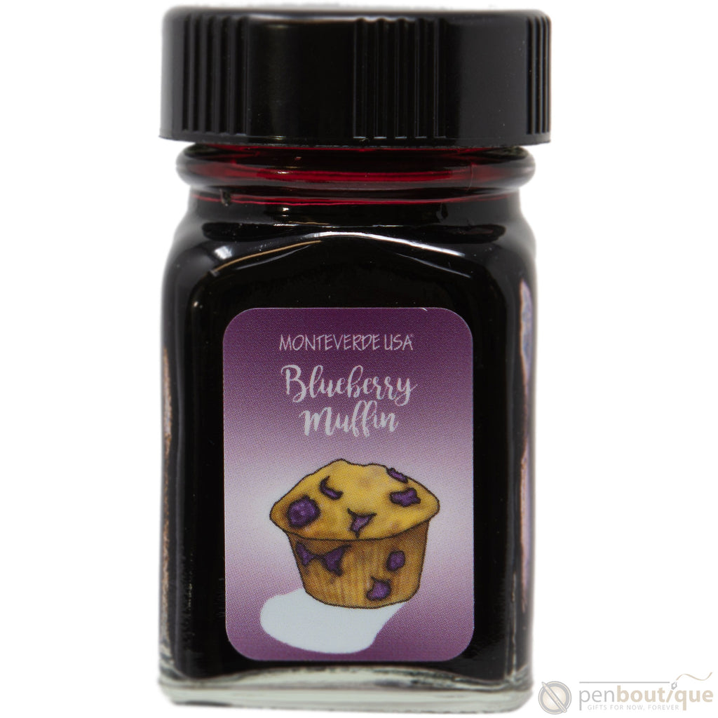Monteverde Sweet Life Ink Bottle - Blueberry Muffin - 30ml-Pen Boutique Ltd