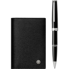 Montblanc Gift Set (PIX Rollerball & Meisterstück Business Card Holder)-Pen Boutique Ltd