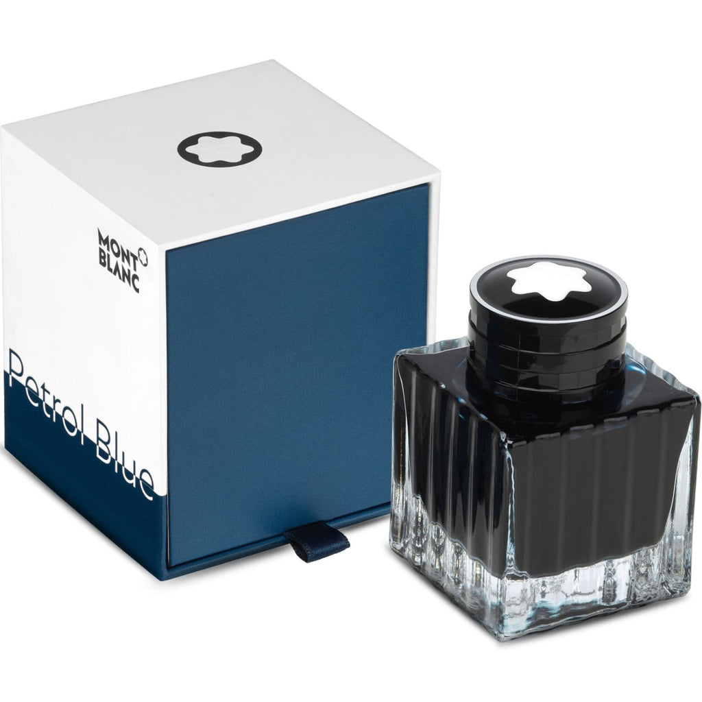 Montblanc Bottled Ink - COY Petrol Blue - 50ml-Pen Boutique Ltd