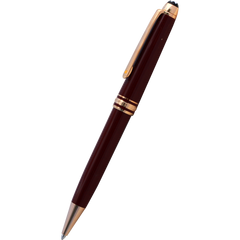 Montblanc Meisterstuck Ballpoint Pen - Le Petit Prince & the Planet - Burgundy - Classique-Pen Boutique Ltd