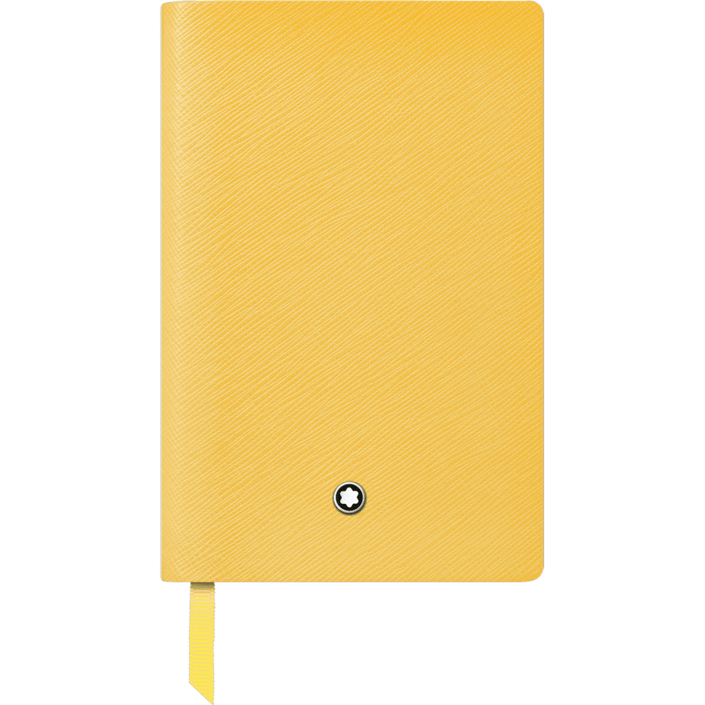 Montblanc Notebook - #148 Mustard Yellow - Lined-Pen Boutique Ltd