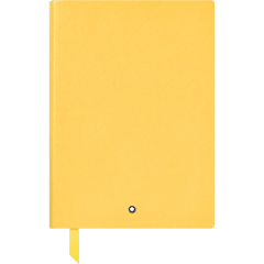 Montblanc Notebook - #163 Mustard Yellow - Lined-Pen Boutique Ltd