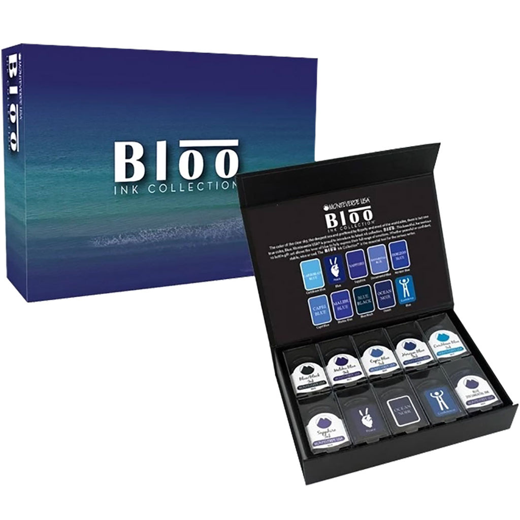 Monteverde USA Bloo Ink Set-The Pen Boutique