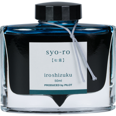 Pilot Iroshizuku Dew on Pine Tree (Syo-ro) Fountain Pen Ink Bottle-Pen Boutique Ltd
