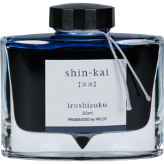 Pilot Iroshizuku Deep Sea (Shin-kai) Ink Bottle-Pen Boutique Ltd