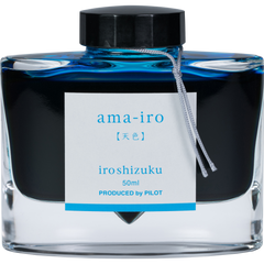 Pilot Iroshizuku Sky Blue (Ama-iro) Ink Bottle-Pen Boutique Ltd