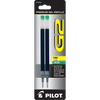 Pilot G2 0.7mm 2 pack Green Refill-Pen Boutique Ltd