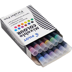 Pilot-Pilot Ink Cartridges - Assorted Colors-12/box-Pen Boutique Ltd