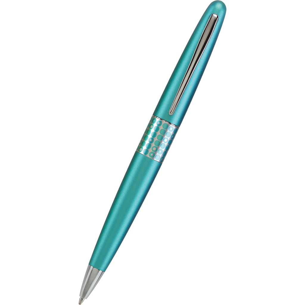 Pilot Ballpoint Pen - MR Collection - Retro Pop - Turquoise-Pen Boutique Ltd