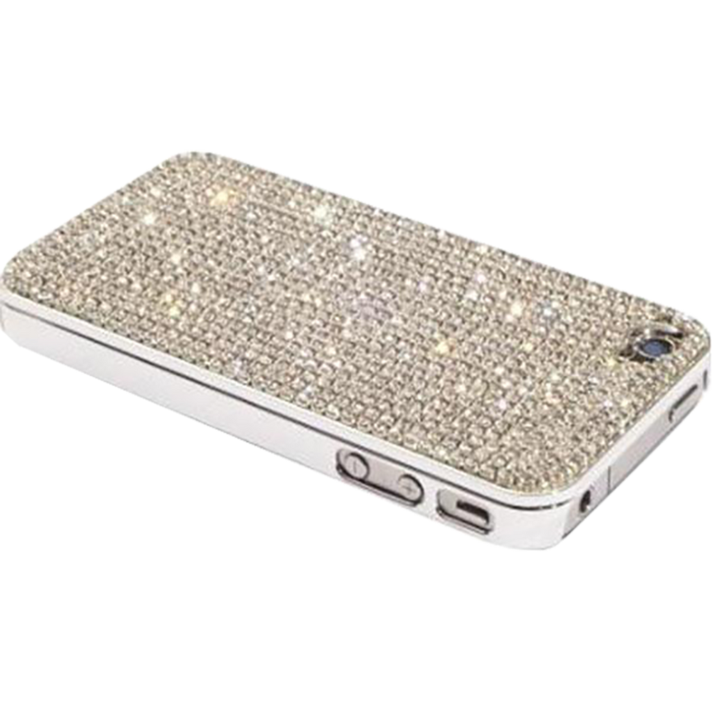 PBL iPhone 4 Case Made w/ Czech Crystals - Diamond Crystals-Pen Boutique Ltd