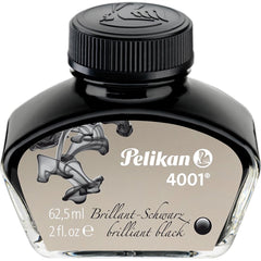 Pelikan 4001 Ink Bottle - Brilliant Black - 62.5 ml-Pen Boutique Ltd