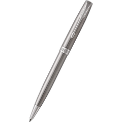Parker Sonnet Stainless Steel with Chrome Trim Ballpoint Pen-Pen Boutique Ltd