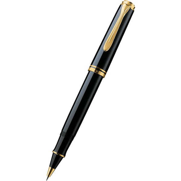 Pelikan Souveran Rollerball Pen - R600 Black-Pen Boutique Ltd