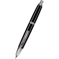 Pilot Vanishing Point Fountain Pen - Black - Rhodium Trim-Pen Boutique Ltd