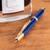 Pilot Vanishing Point Fountain Pen - Blue - Gold Trim-Pen Boutique Ltd